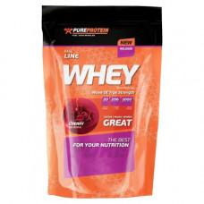 PureProtein, Сывороточный протеин Whey, клубника, 1 кг