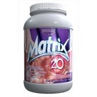 Syntrax, Многокомпонентнй протеин Matrix 2.0, шоколад, банан, клубника, апельсин, 909 грамм