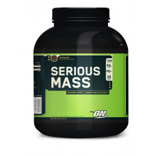 Optimum Nutrition ON, Гейнер Serious Mass клубника, 2,72 кг