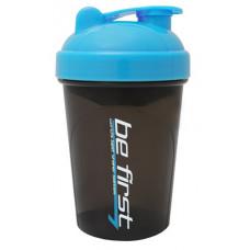 Be First, Шейкер для спортивного питания, чёрно-синего цвета, 500 мл