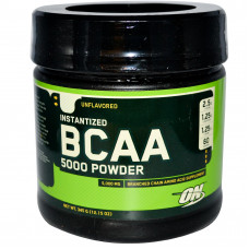Optimum Nutrition ON, BCAA 5000 Powder, 345 г