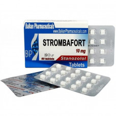 Balkan Pharmaceuticals, Станозолол Стромбафорт 10 мг, 100 таблеток