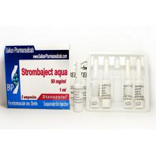 Balkan Pharmaceuticals, Strombaject aqua Стромбаджект Станозолол 50 мг, 10 ампул