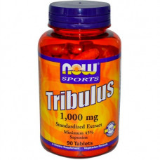 Now Sports, Tribulus 1000 mg, Трибулус 1000 мг, 90 таблеток