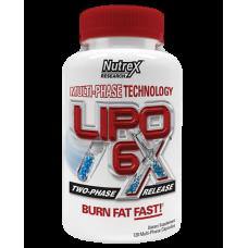 Nutrex, Жиросжигатель LIPO 6X Липо 6 х, 120 капсул