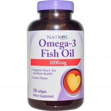 Natrol, Рыбий жир Omega-3 Fish Oil 1000 мг, 150 мягких капсул