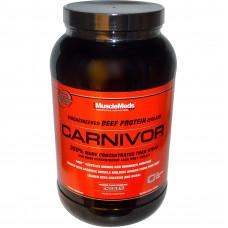 MuscleMeds, Carnivor Говяжий изолят, 1,1 кг