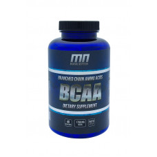 Maximal Nutrition MN, BCAA, 200 капсул