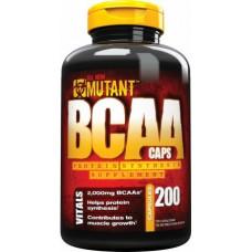 Mutant, BCAA 200 caps/капсул