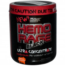 Nutrex, Hemo Rage Black Ultra Concentrate 264 грамма