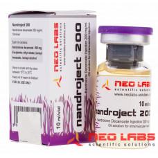 Neo Labs, Nandroject 200 Nandrolone Decanoate Нандролон Деканоат 200 мг/мл, 10 мл