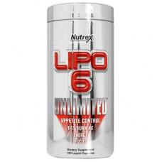 Nutrex, Lipo-6 Unlimited Липо 6 Анлимитед, 132 капсулы