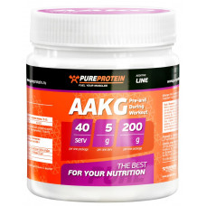 PureProtein, L-Arginine alpha L-аргинин альфа, 200 грамм