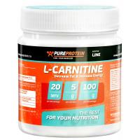 PureProtein, L-Carnitine L-карнитин яблоко, 100 грамм