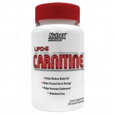 Nutrex, Lipo 6 L-Carnitine, 60 жидких капсул
