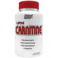 Nutrex, Lipo-6 L-carnitine, 120 жидких капсул
