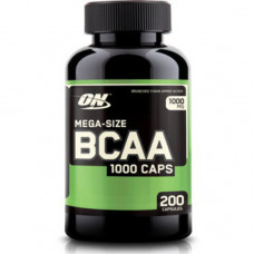 Optimum Nutrition ON, BCAA 1000 caps, 200 капсул