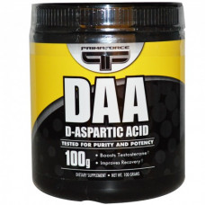 Primaforce, DAA D-Aspartic Acid D-аспарагиновая кислота, 100 г