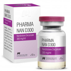 Pharmacom LABS, PHARMANAN D 300 Нандролон Деканоат 300 мг/мл, 10 мл