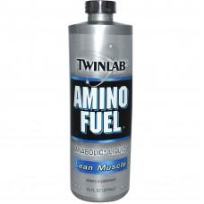 Twinlab, Amino Fuel, Lean Muscle Жидкие аминокислоты, 474 мл