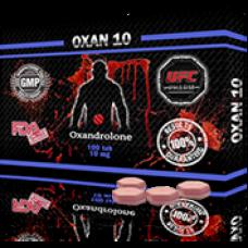 UFC PHARM, OXAN 10 Оксандролон 10 мг, 100 таблеток