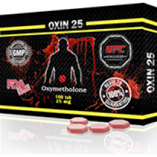 UFC PHARM, OXIN 25 Оксиметолон 25 мг, 100 таблеток
