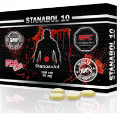 UFC PHARM, STANABOL 10 Станазолол Станабол 10 мг, 100 таблеток