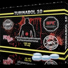 UFC PHARM, TURINABOL Туринабол 10 мг, 100 таблеток