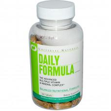 Universal Nutrition UN, Daily Formula Мультивитаминный и минеральный комплекс, 100 таблеток