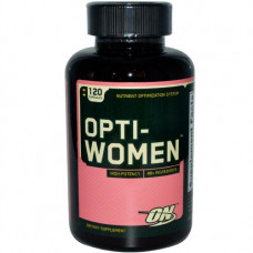 ON Optimum Nutrition,  Opti-Women Комплекс витаминов и минералов для женщин, 120 капсул