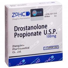 ZPHC, Drostanolone Propionate U.S.P. Мастерон Дростанолон Пропионат 100 мг/мл, 10 ампул
