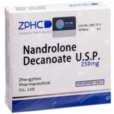 ZPHC, Нандролон Деканоат Nandrolone Decanoate 250 мг, 10 ампул