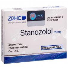 ZPHC, Stanozolol Станозолол 20 мг, 50 таблеток