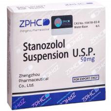 ZPHC, Stanozolol Suspension Станозолол инъекционный суспензия 50 мг, 10 ампул