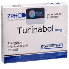 ZPHC, Turinabol Туринабол 20 мг, 50 таблеток