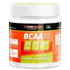 PureProtein, BCAA 2:1:1, 200 гр. Вкус: апельсин, лимон, лесные ягоды, яблоко