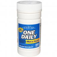 21st Century Health Care, Мужские мультивитамины One Daily, 100 таблеток