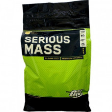 Optimum Nutrition ON, Serious MASS гейнер сириус масс, 5,5 кг