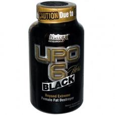 Nutrex, Жиросжигатель для женщин Lipo 6 Black Hers, 120 капсул