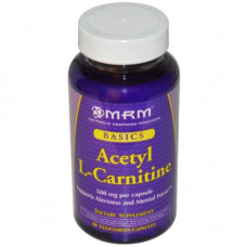 MRM, L-Carnitine L-карнитин, 60 капсул