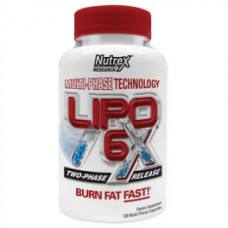 Nutrex, Lipo-6x, 240 капсул