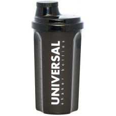 Universal shaker bottles, Шейкер 700 мл черный